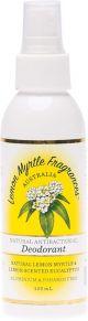 Lemon Myrtle Fragrances Deodorant Spray 125ml