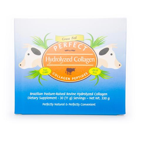 Perfect 100% Grass-Fed Hydrolyzed Collagen Powder In Sachets