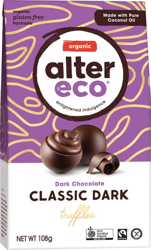 ALTER ECO Dark Chocolate Truffles 108g