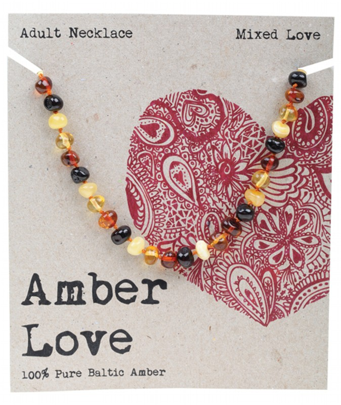 AMBER LOVE Mixed Adult Necklace 46cm