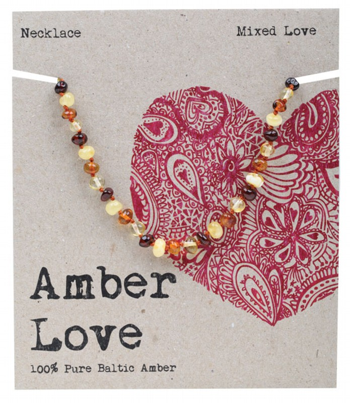 AMBER LOVE Multi Child Necklace 33cm