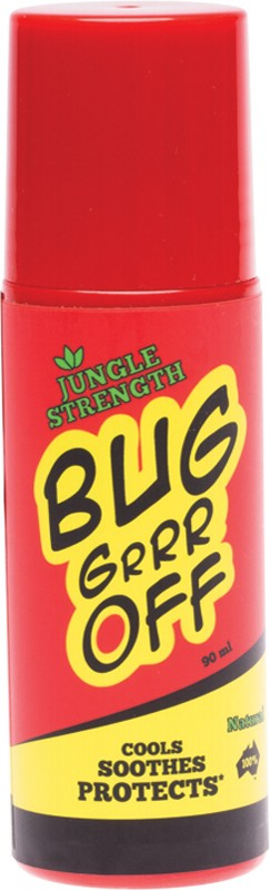 BUG-GRRR OFF Jungle Strength Roll On 90ml