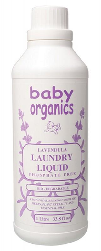 Baby Organics Laundry Liquid 1L