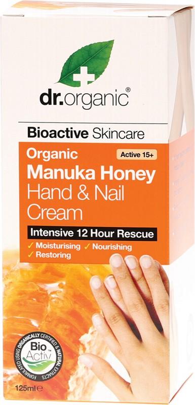 Dr Organic Manuka Hand & Nail 125ml