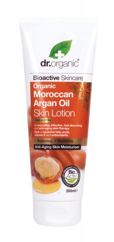 DR ORGANIC Argan Skin Lotion 200ml