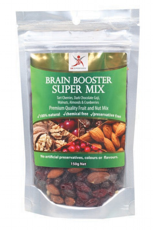 DR SUPERFOODS Cherry, Cranberry, Choc Goji & Nuts 150g