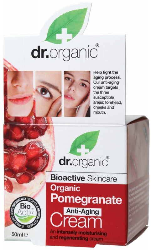 Dr Organic Pomegr. Cream 50ml