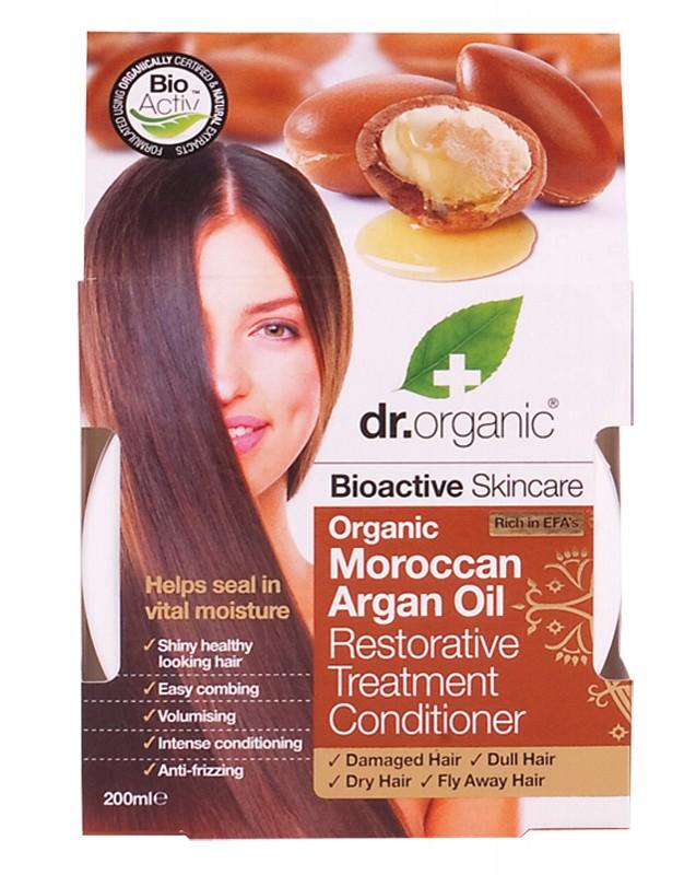 Dr Organic Argan Treatment Conditioner 200ml