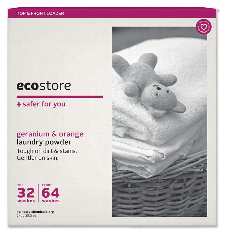 ECOSTORE Orange Laundry Powder 1kg