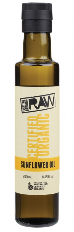 Every Bit Organic Raw Sunflower Oil Unrefined 250ml