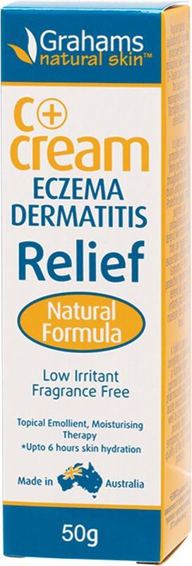 GRAHAMS NATURAL C+Cream Eczema & Dermatitis 50g
