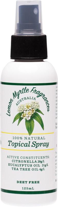 LEMON MYRTLE FRAGRANCES Outdoor Protection 125ml