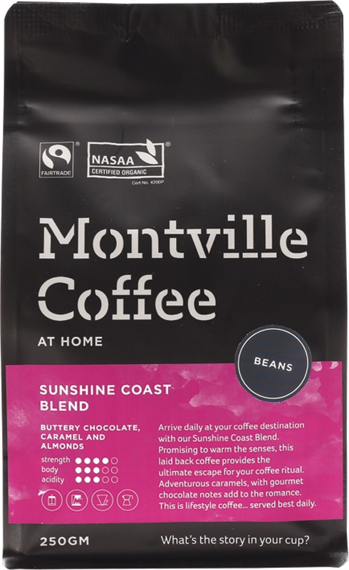 Montville Coffee Coffee Beans 250g