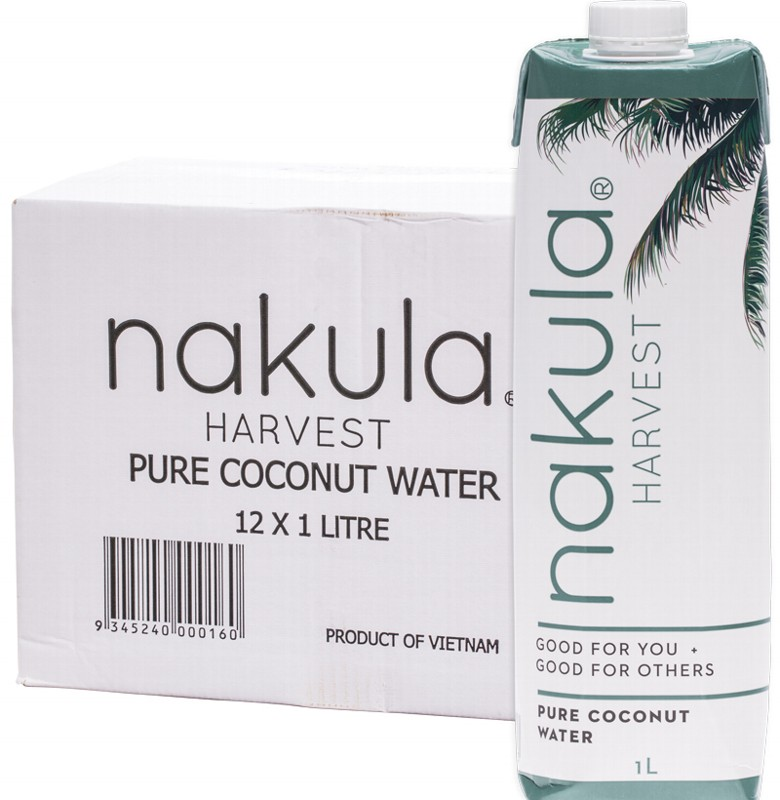 NAKULA Coconut Water Carton 12x1L