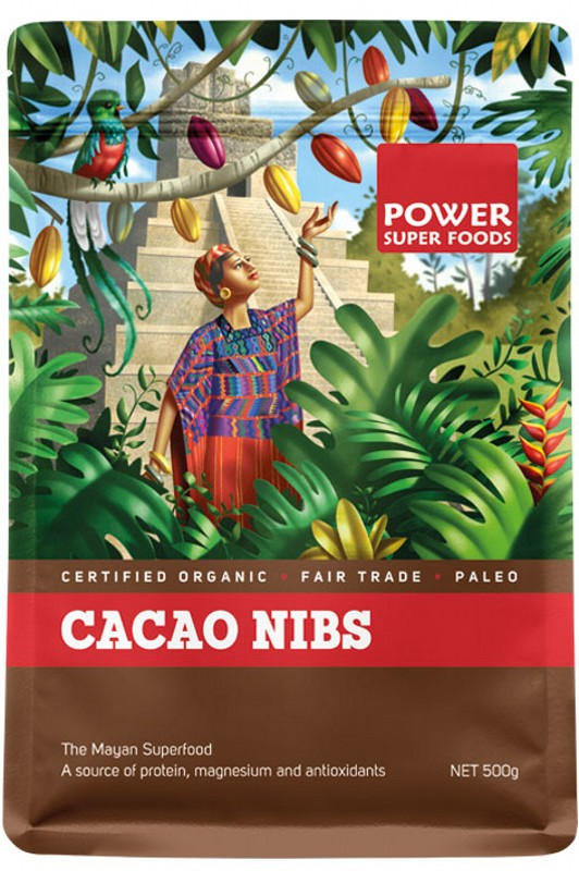 POWER SUPER FOODS Cacao Nibs 500g