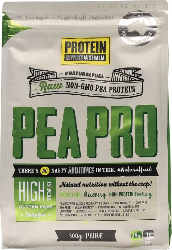 PROTEIN SUPPLIES AUST. Pea Protein Isolate 500g