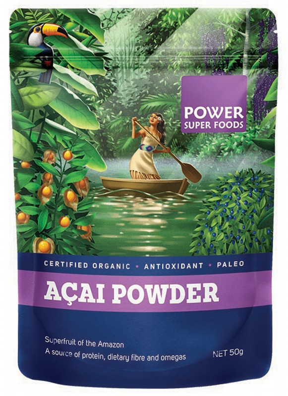 Power Super Foods Acai Berry Powder 50g