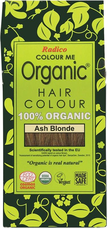 RADICO Colour Me Organic - Hair Colour Powder - Ash Blonde 100g