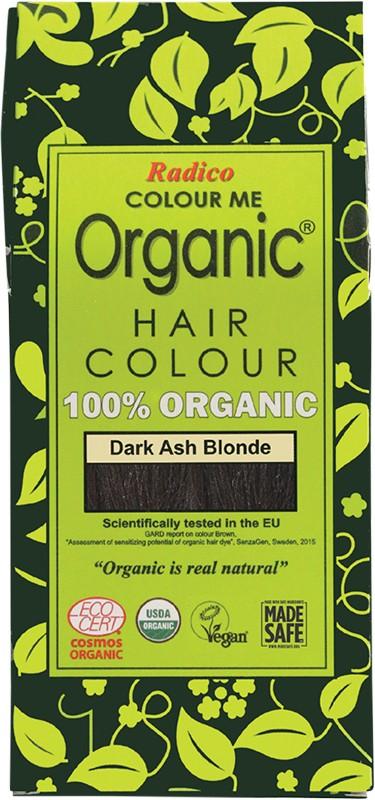 RADICO Colour Me Organic - Hair Colour Powder - Dark Ash Blonde 100g