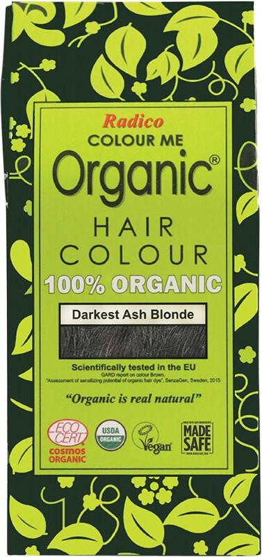 RADICO Colour Me Organic - Hair Colour Powder - Darkest Ash Blonde 100g