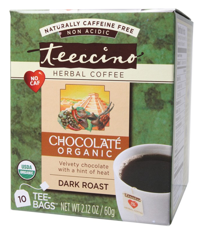 Teeccino Chocolate Coffee Bags 10 bags