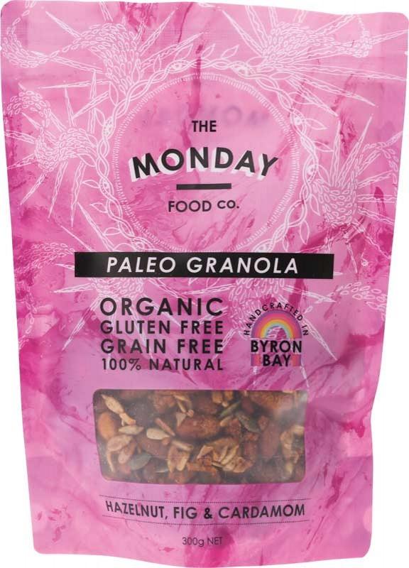 MONDAY FOOD CO. Granola Hazelnut, Fig & Cardamon 300g