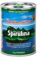 Green Nutritionals Spirulina Powder 1kg