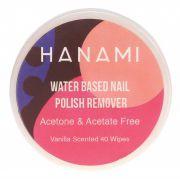 HANAMI Polish Remover Wipes Vanilla 40
