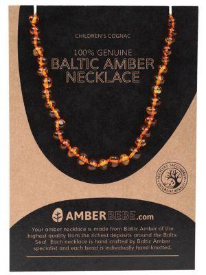 AMBERBEBE Cognac Child Necklace 33cm