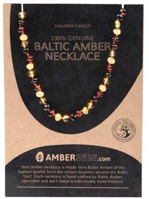 AMBERBEBE Mult Child Necklace 33cm