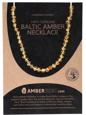 AMBERBEBE Lemon Child Necklace 33cm