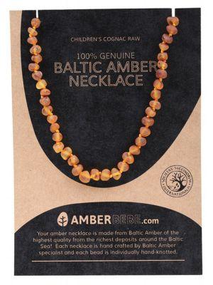 AMBERBEBE Raw Child Necklace 33cm