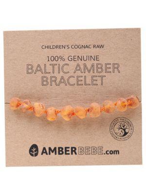 AMBERBEBE Raw Child Bracelet 14cm