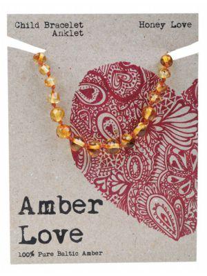 AMBER LOVE Honey Child Bracelet 14cm