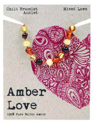 AMBER LOVE Mixed Child Bracelet 14cm