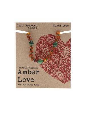 AMBER LOVE Amber Earth Love 14cm