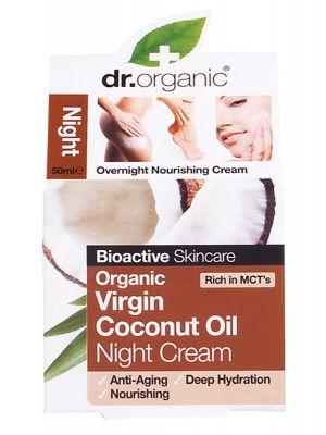 Dr Organic Coconut Night Cream 50ml