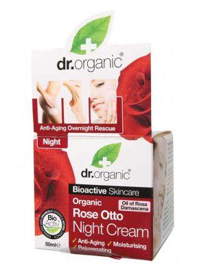 Dr Organic Rose Night Cream 50ml