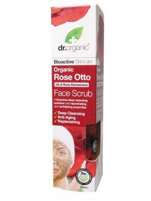 Dr Organic Rose Face Scrub 125ml