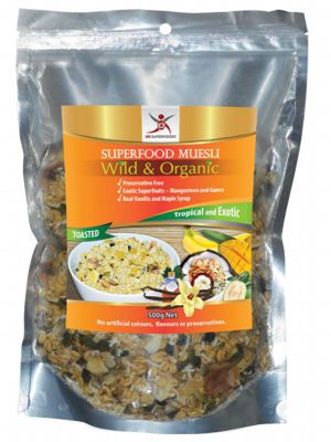 DR SUPERFOODS Tropical & Exotic Muesli 500g