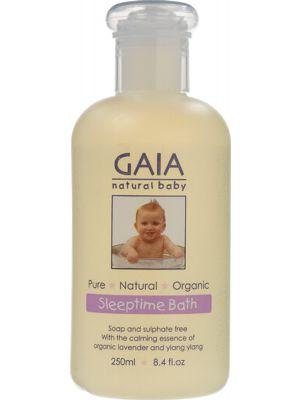 Gaia Natural Baby Baby Sleeptime Bath Wash 250ml