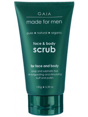 Gaia Made For Men Face & Body Scrub 150g