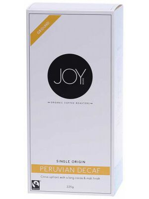 JOY BEANS Peruvian Decaf Ground Medium 225g