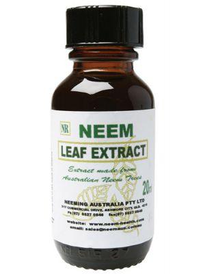 Neeming Australia Neem Leaf Extract 20ml