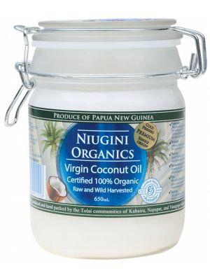 NIUGINI ORGANICS Virgin Coconut Oil 650ml