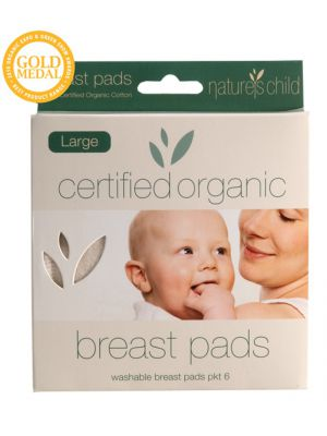 Nature's Child Large Breast Pads 6 pack