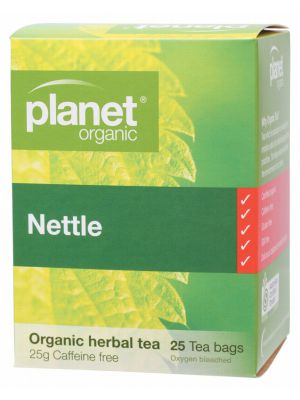 PLANET ORGANIC Nettle Tea Bags 25 bags