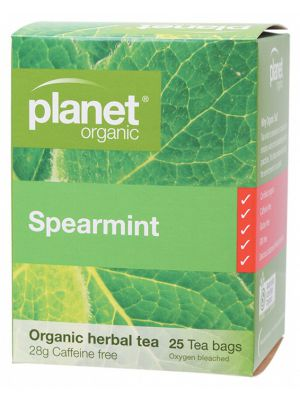 PLANET ORGANIC Spearmint Tea Bags 25 bags