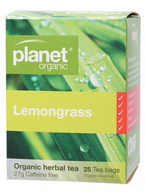 PLANET ORGANIC Lemongrass Tea Bags 25 bags