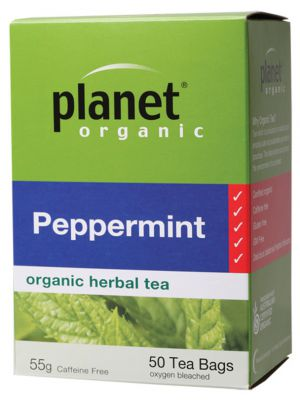 Planet Organic Peppermint Tea Bags 50 bags